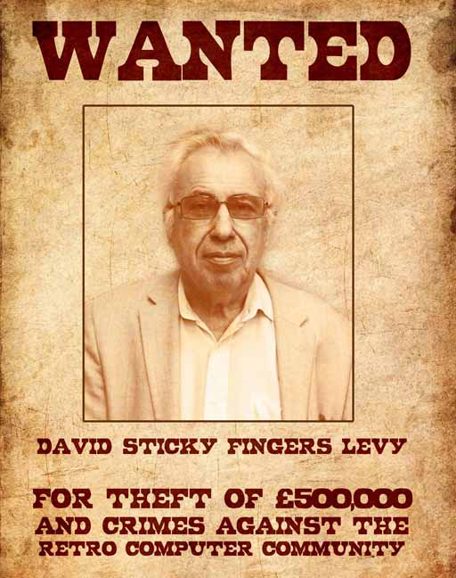 David Levy with awful teeth hires security consultant Stuart Thomas