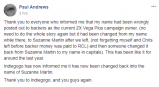 Suzanne Martin now campaign owner of the Vega+ debacle
