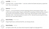 Multiple people post that Paypal confirms RCL are refusing refunds