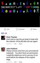John Pickford demands removal of Zub from promotional materials