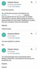 Graham Kenny refuses Suzanne Martin's refund offer for now