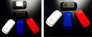 Red, white and blue cases