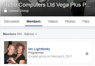 Ian Lightbody created the Facebook group